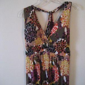 Maxi dress w/ padded bra top XL